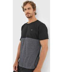 camiseta colombo logo grafite - grafite - masculino - algodã£o - dafiti