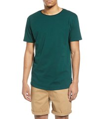 men's scotch & soda regular fit crewneck t-shirt, size large - green