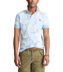 polo ralph lauren men's classic-fit hawaiian polo shirt