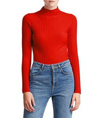 lamont merino long-sleeve knit sweater