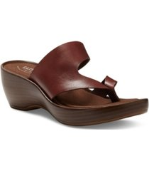 eastland women's laurel thong sandals women's shoes