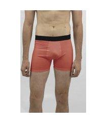 cueca boxer color e/a emporio alex malha vermelho