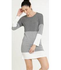 camisola feminina recorte manga longa marisa