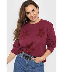 sweater violeta minari flor