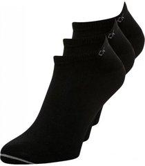 3pack calcetines basic negro calvin klein
