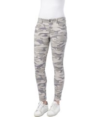 democracy ab solution mid rise size zip printed jegging