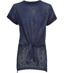 maglia in fantasia lucida (blu) - bodyflirt