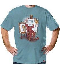 camiseta autorretrato