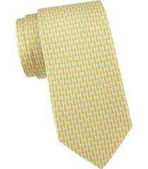 penguin silk tie
