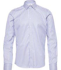 8734 - jake sc skjorta business blå xo shirtmaker by sand copenhagen