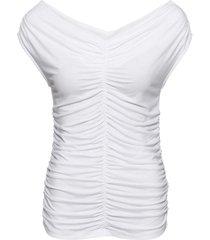 maglia con spalle scoperte (bianco) - bodyflirt boutique