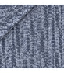 giacca da uomo su misura, reda, blu notte spigata biella, autunno inverno