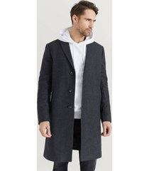 rock dean wool coat