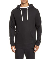men's ugg terrell hoodie, size xx-large - black