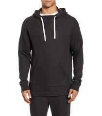 men's ugg terrell hoodie, size small - black
