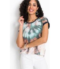 shirt met batikprint