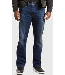 jeans levis 505 regular roth azul - calce ajustado