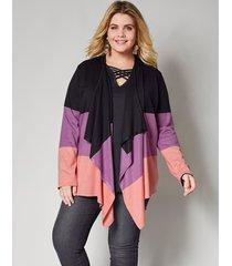 vest angel of style zwart::roze