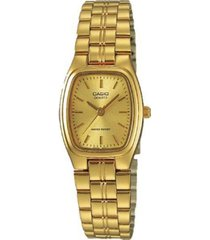 reloj casio ltp_1169n_9ar dorado acero inoxidable