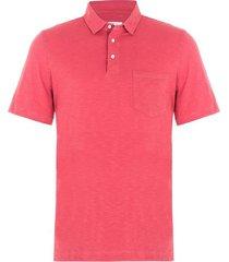 camisa tipo polo jersey diseño melange regular fit hombre 96268