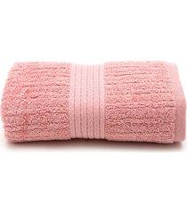 toalha de rosto buddemeyer fio penteado 48x85 rosa