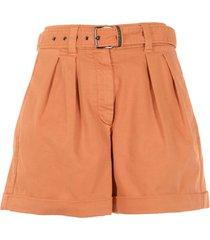 brunello cucinelli cotton shorts
