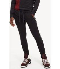 pantalon jogger negro lewis hamilton