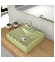 cuba apoio para banheiro trevalla q39w com válvula click up 7/8 pol