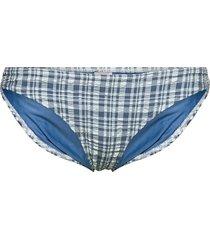eli bikini bottom swimwear bikinis bikini bottoms bikini briefs blå becksöndergaard