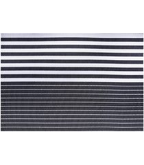 jogo americano textilene 45x30cm casual azul escuro