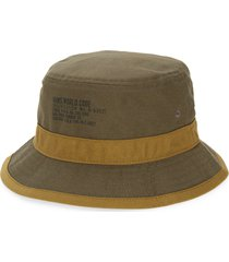 vans undertone cotton twill bucket hat, size small in grape leaf-nutria at nordstrom