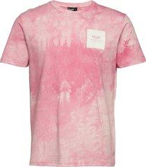 ribe tie dye tee t-shirts short-sleeved rosa h2o
