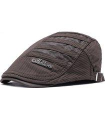 berretto invernale da uomo confortevole in cotone regolabile caldo e traspirante