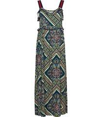 humble maxi dress galajurk multi/patroon libertine-libertine