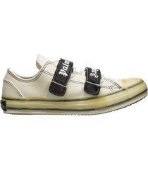 scarpe sneakers uomo in pelle vulcanized