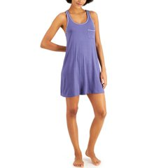 alfani racerback ultra-soft nightgown, created for macy's