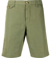 incotex bermuda tailored shorts - green