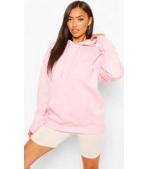 petite basic hoodie, roze