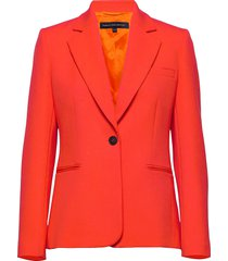 adisa sundae sutng tlrd jckt blazer oranje french connection