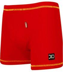 cueca boxer freedom dionisio collection vermelho - kanui