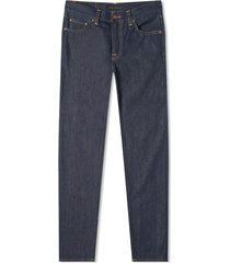 nudie jeans gritty jackson | dry maze selvedge | 113508-sel