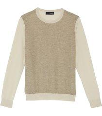 honeycomb panel sweater