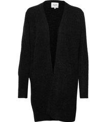brook knit cape stickad tröja cardigan svart second female
