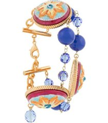 dolce & gabbana bracelete com aplicações - estampado