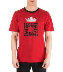 dolce & gabbana short sleeve t-shirt crew neckline jumper