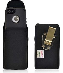 turtleback vertical ballistic nylon holster pouch extended - fits iphone 5 / 5s