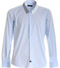 gecontroleerd button down overhemd