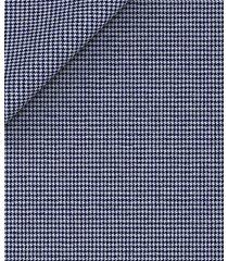 giacca da uomo su misura, drago, blue pied de poule lana cotone, primavera estate | lanieri