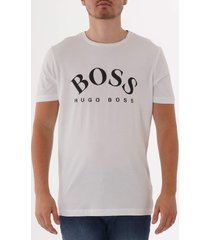 boss tee 7 logo t-shirt - white 50412469