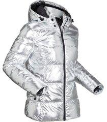 giacca trapuntata metallizzata (argento) - bpc bonprix collection